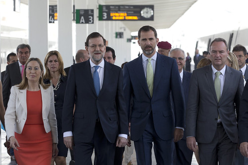 Inauguración AVE Madrid-Alicante