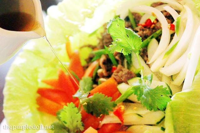 Yam Neua - Beef Salad (P350)