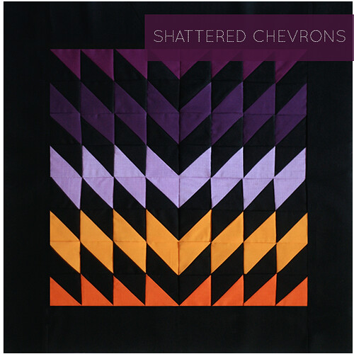 Shattered Chevrons Block