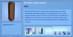 D-Fusion Light Column