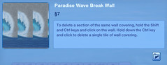 Paradise Wave Break Wall 3