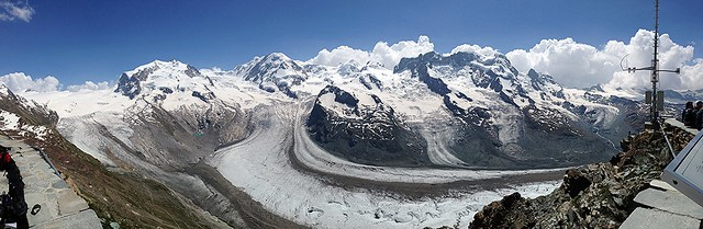 Facing the giants@Gornergrat, Zermatt