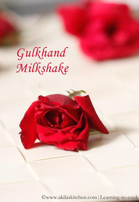 Gulkhand shake
