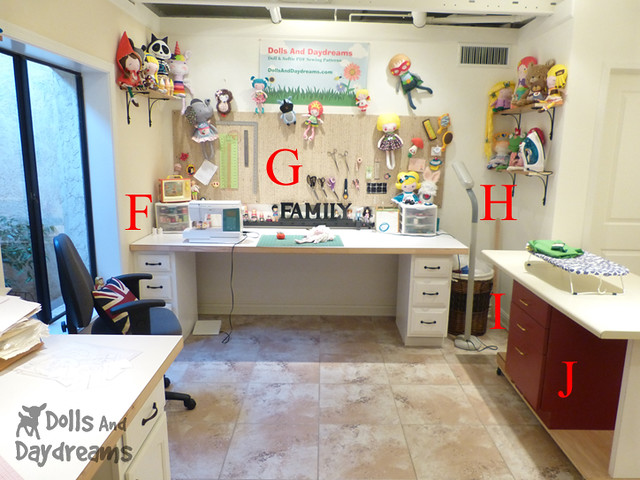 Sewing Room Make Over DIY Dolls And Daydreams 2B