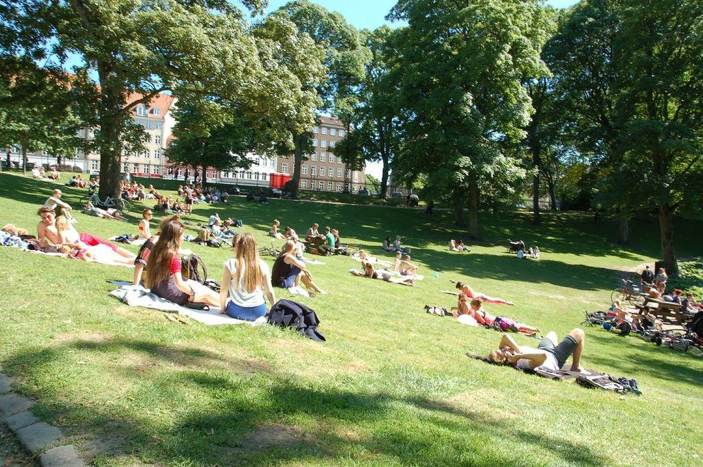 Copenhagen Park Life in HC Ørstedparken