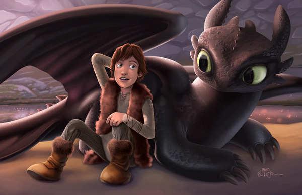 cómo entrena a tu dragon