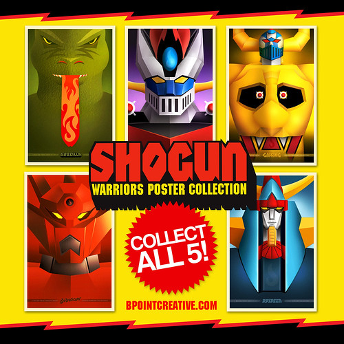 Shogun Warriors Posters