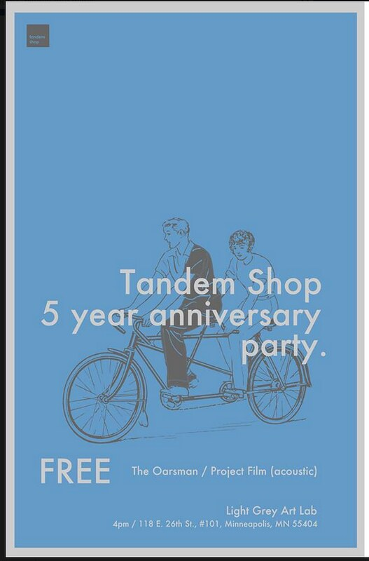 Tandem Shop's 5-Year Anniversary Party - 8/3
