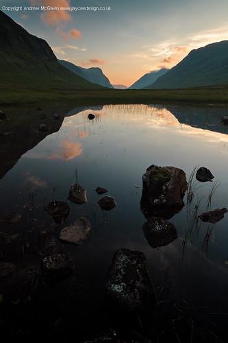 Glencoe lochan by amcgdesigns