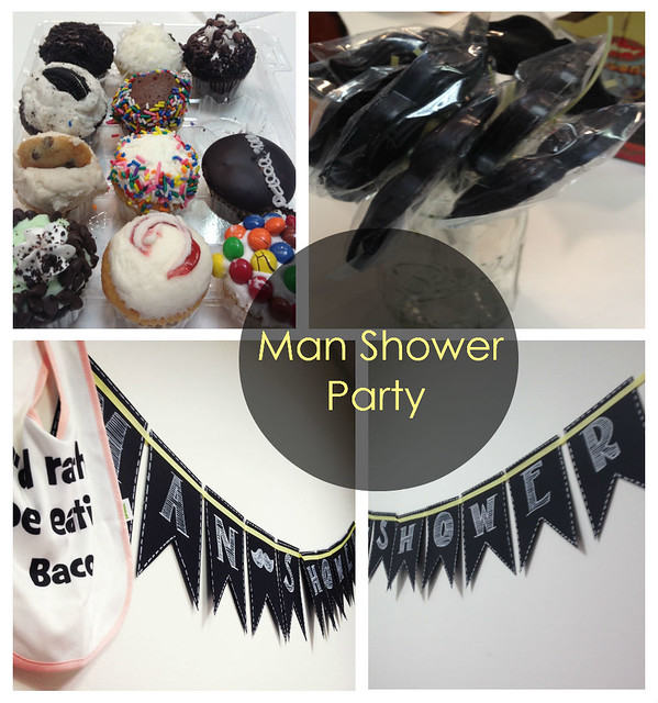 office-man-shower-party
