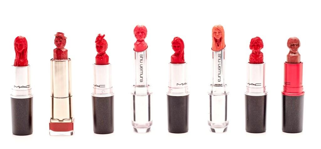 Asia Lipstick Sculpture Artist- Maysum