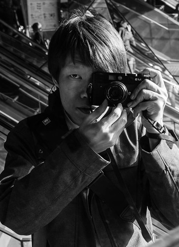 Self Portrait at Tokyu Plaza, Omotesando. Carrying on the tradition of Street Photography.