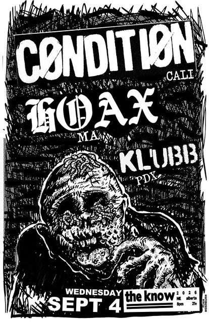 9/4/13 Condition/Hoax/Klubb