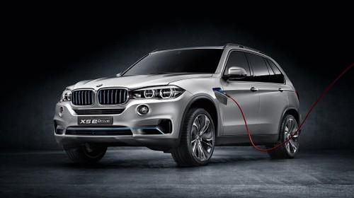 Concept X5 eDrive присоединится к гибридным BMW во Франкфурте