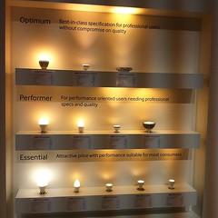 Auswahl an Retrofit Leuchten von #Samsung #led #ifa