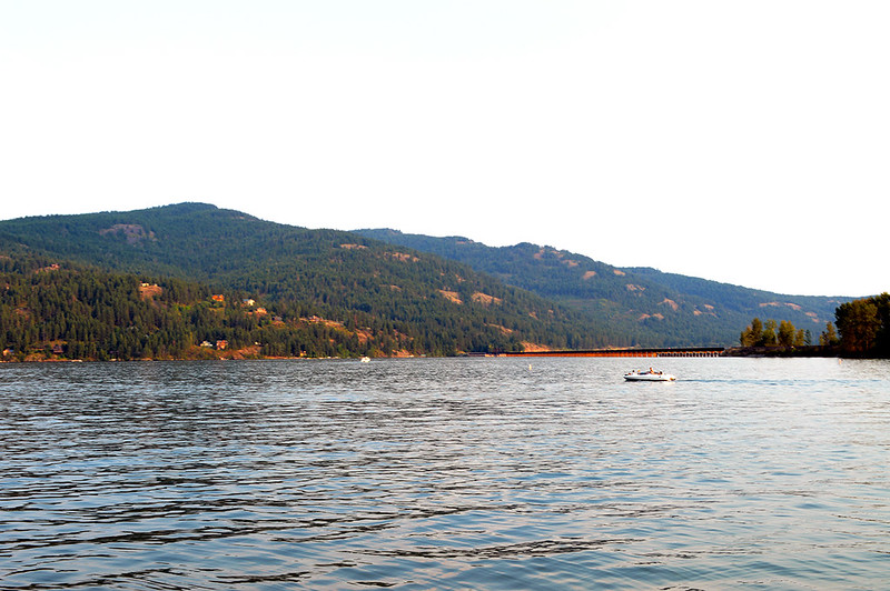 Lake Pend Oreille from Sandpoint Beach