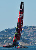 Race 6 - 34th America's Cup - San Francisco - 2013. Emirates Team New Zealand crewing.