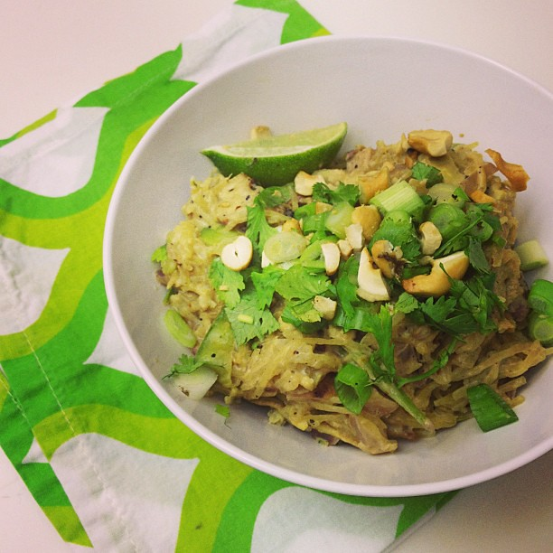 #Paleo Pad Thai. Takeout style food seemed apropos for a Friday. TGIF! #whole30
