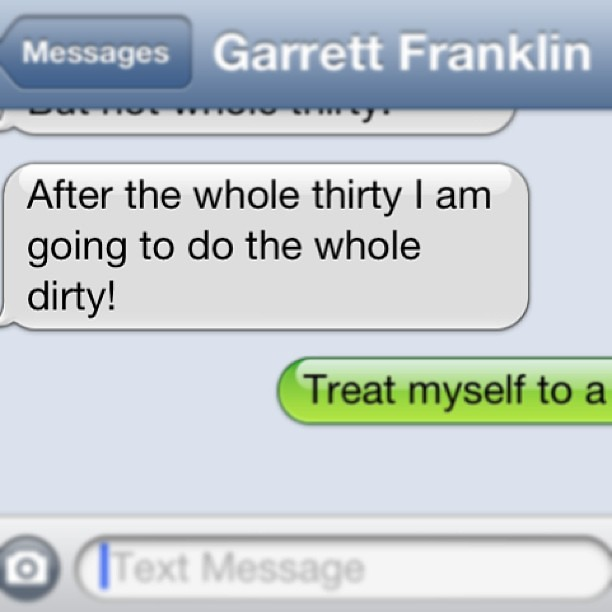 Garrett's thoughts on Day 10 of our #whole30
