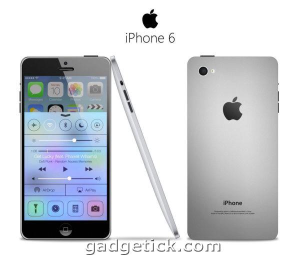 iPhone 6 выйдет в 2014 году