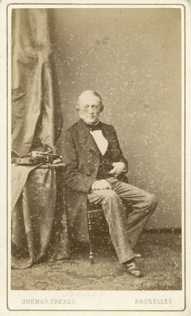 Charles Auguste de Beriot portrait