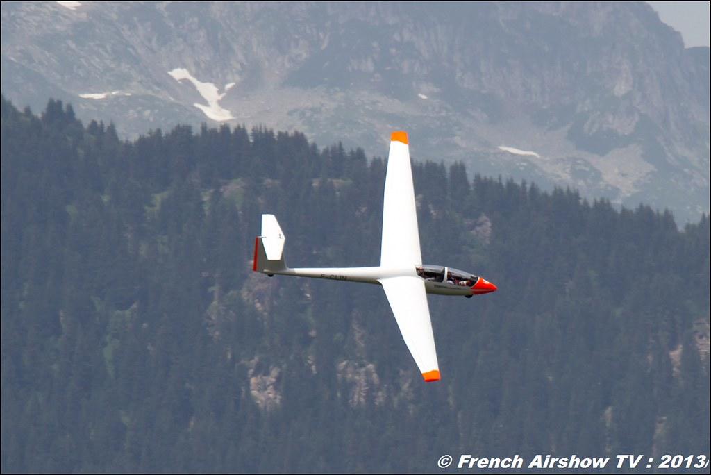 Planeur F-CLIN, Centre Savoyard de Vol à Voile Alpin (CSVVA), Meribel Air Show 2013