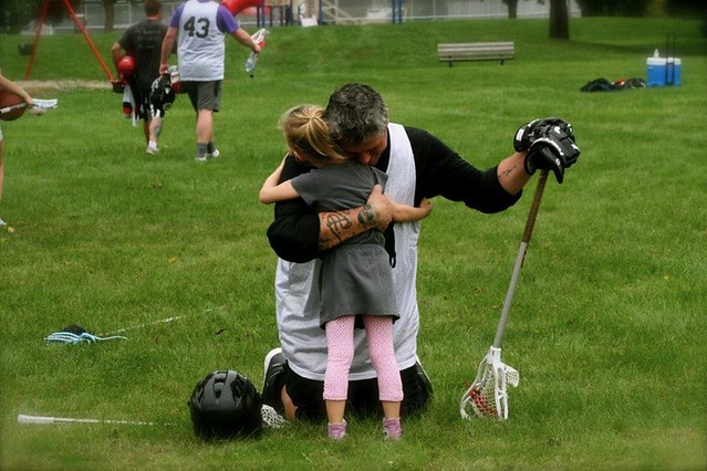 Daddy Daughter Lacrosse