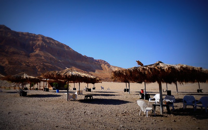 Mineral Beach, Dead Sea, Israel.