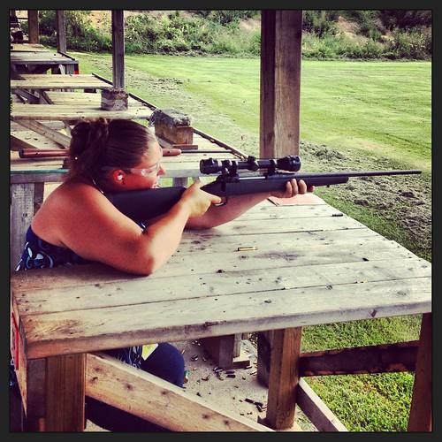Cal At The Gun Range