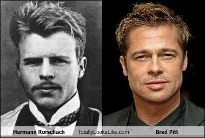 Hermann Rorschach e Brad Pitt
