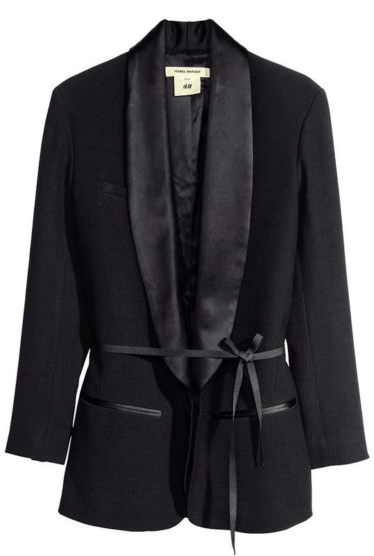 isabel marant pour h&m tuxedo jacket