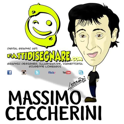 Massimo Ceccherini by Giuseppe Lombardi