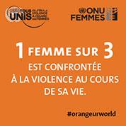 1 femme sur 3 est confrontee a la violence au cours de sa vie