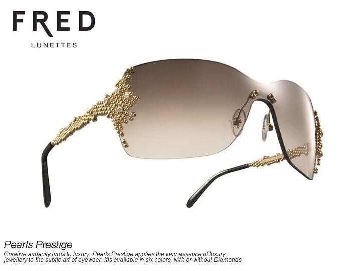 4e65d532a9 ... Fred Pearls Prestige Sunglasses Collection Diamond set SVO BH 90210