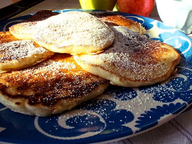 Pancake alle Mele - Ricetta