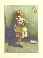"""British Library digitised image from page 27 of """"Childhood Valley. The favourite songs of childhood, with new pictures in color by John Lawson, etc"""""""