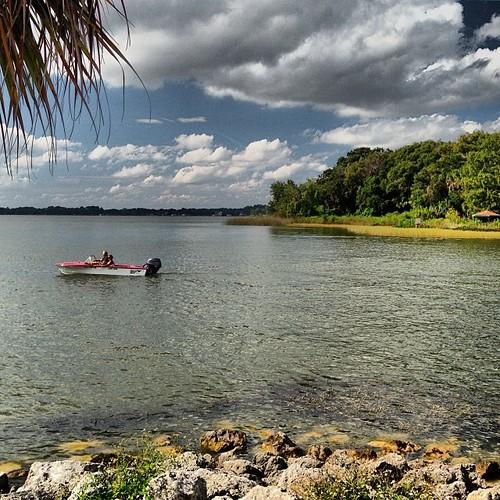 instagramapp square squareformat iphoneography uploaded:by=instagram mtdora florida mountdora lake lakedora outdoor boat