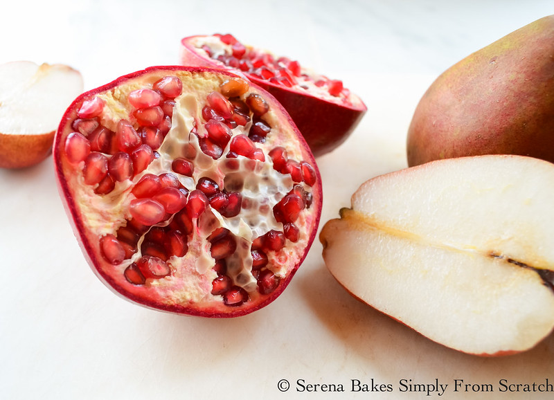 Seed pomegranate.
