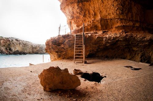 Cueva en Cala Conta @ Ibiza