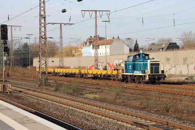DB BR 260 671 (V 60) am Bahnhof Essen-West
