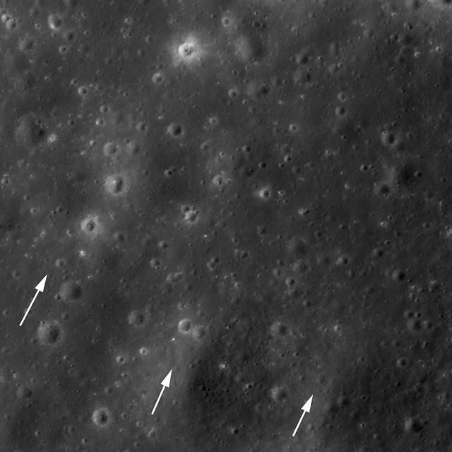 Extensive Copernicus ejecta