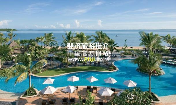 斐济索菲特水疗度假村(Sofitel Fiji Resort & Spa)泻湖游泳池