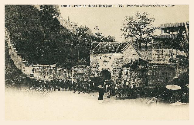 TONKIN - Porte de Chine à Nam-Quan - Ải Nam Quan