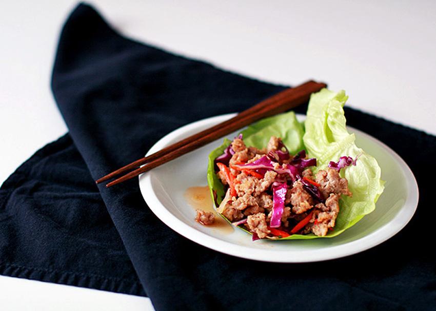 Thai Valentine Larb Lettuce Wraps 3