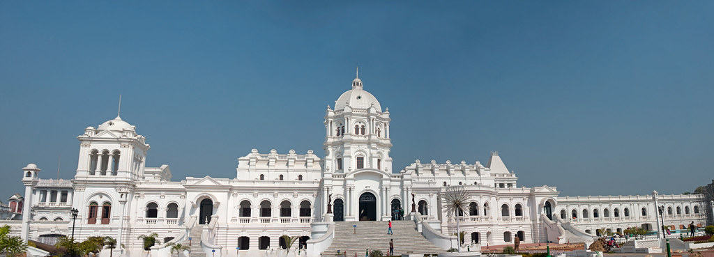 Panoramic View of Ujjayanta Palace