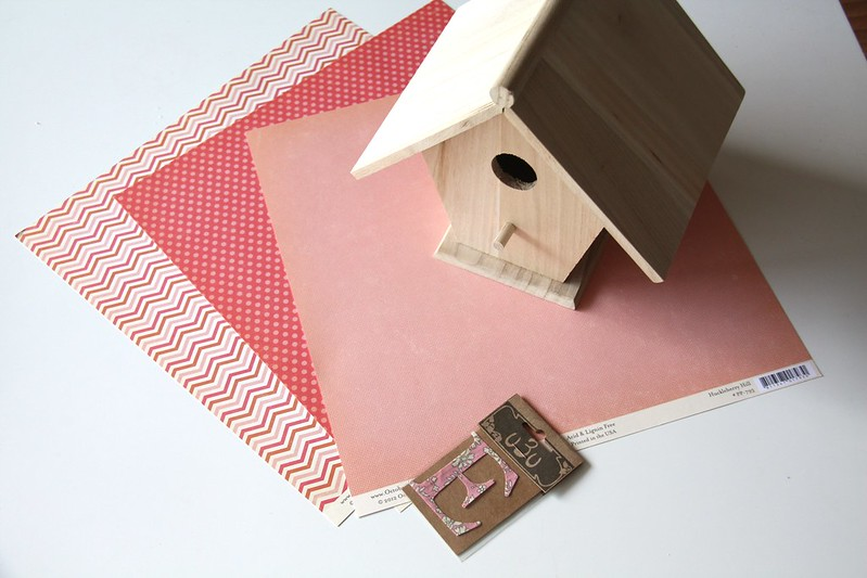 material birdhouse
