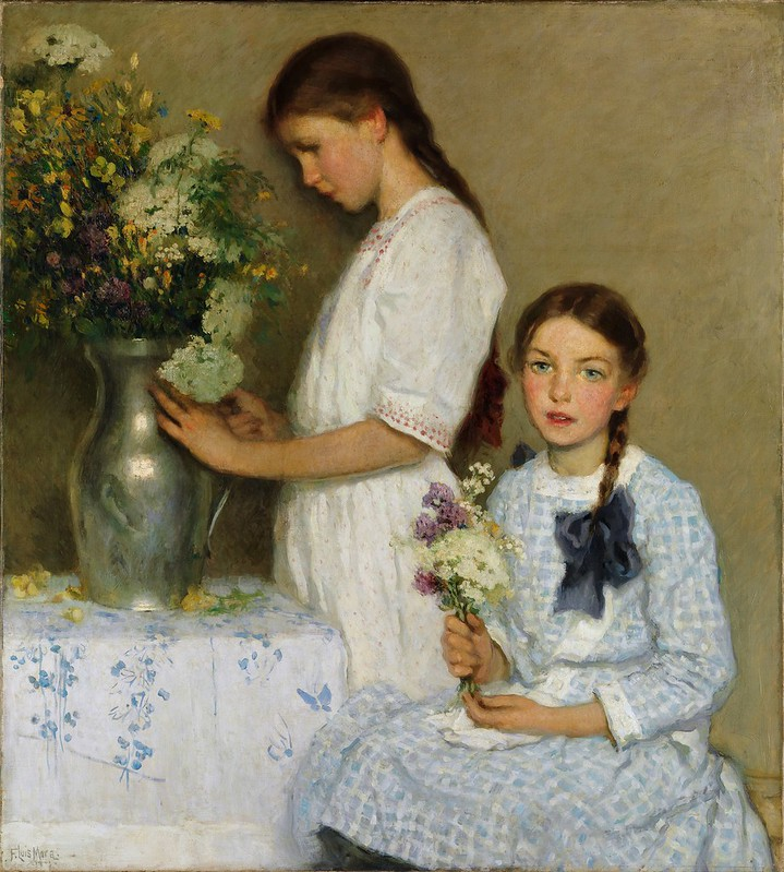 F. Luis Mora - Flowers of the Field (1913)