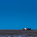 Moon rise over the winter pasture. by jaimi.lammers
