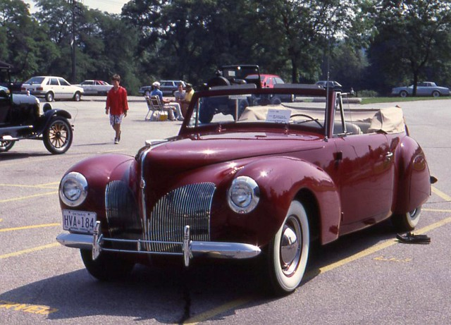 1940 lincoln continental convertible flickr photo sharing. Black Bedroom Furniture Sets. Home Design Ideas