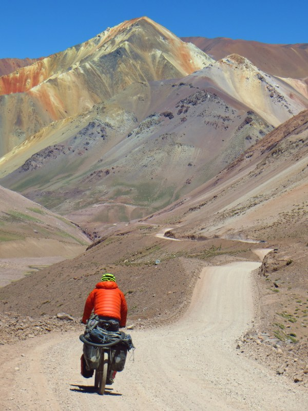 Descending to Vicuna, from Paso Agua Negra